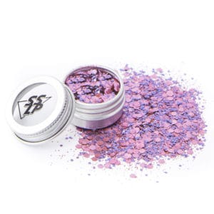 Sisilapaillette: Si Si La Paillette, paillettes biodégradables roses et violettes à paris, ecoglitter bioglitter pink purple